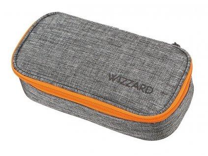 Studentský penál WIZZARD Grey