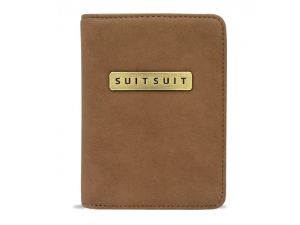 Obal na pas SUITSUIT® AS-71098 Golden Brown