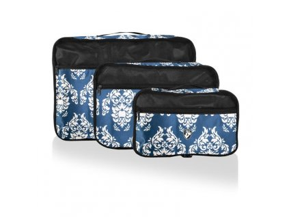 Heys Exotic Packing Cube Set Damask – sada 3 ks