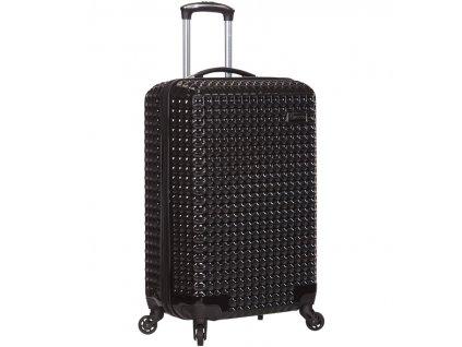 Kabinové zavazadlo SIROCCO T-1195/3-S PC - černá  + Pouzdro zdarma