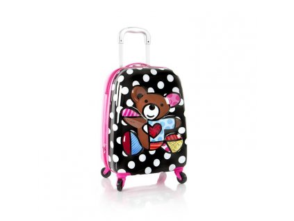 Heys Britto Tween Spinner 3D Teddy Bear  + Brašna zdarma
