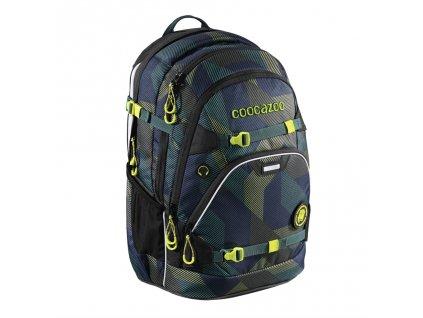 Školní batoh Coocazoo ScaleRale, Polygon Brick, certifikát AGR  + Sportovní láhev + Pouzdro