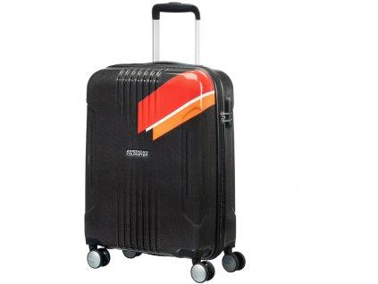 American Tourister TRACKLITE SPINNER 78 EXP L - ORANGE STRIPES  + PowerBanka nebo pouzdro zdarma