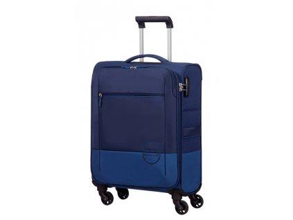 American Tourister INSTAGO SPINNER 55 S - NAVY/BRIGHT BLUE  + Pouzdro zdarma