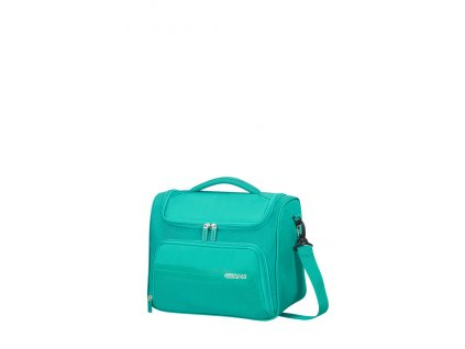 American Tourister SUMMER VOYAGER BEAUTY CASE - PEACOCK