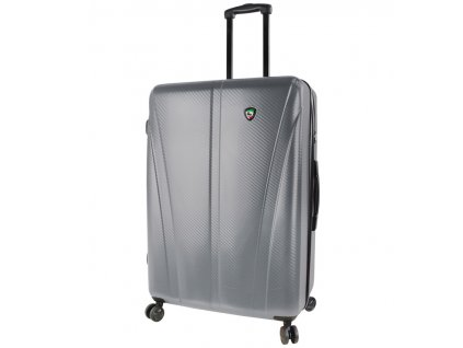 Cestovní kufr MIA TORO M1238/3-L - stříbrná  + Pouzdro zdarma
