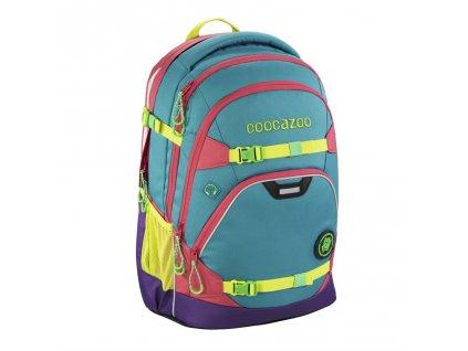 Školní batoh Coocazoo ScaleRale, Holiman, certifikát AGR  + Sportovní láhev + Pouzdro