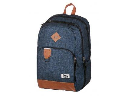 Studentský batoh CONCEPT Blue  + Pouzdro zdarma