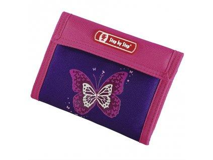 Peněženka Step by Step Třpytivý motýl