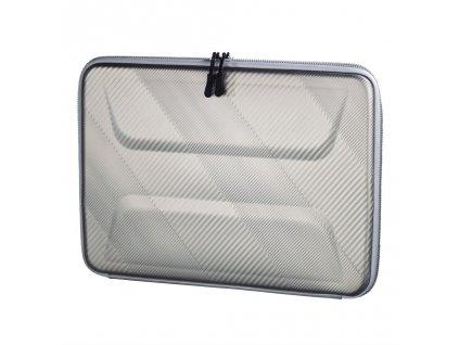 """Hama obal na notebook Hardcase stříbrný, pro velikost 34 cm (13.3"""")"""