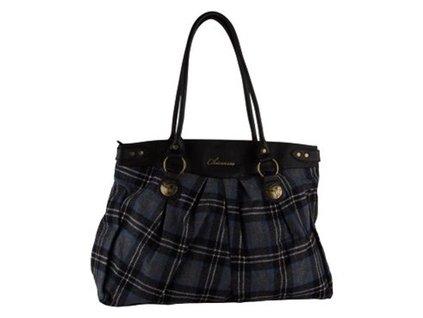 Chiemsee dámská kabelka ROMY S.shadou grey woolcheck, dámská kabelka