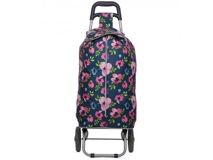 Nákupní taška na kolečkách HOPPA ST-689 - floral