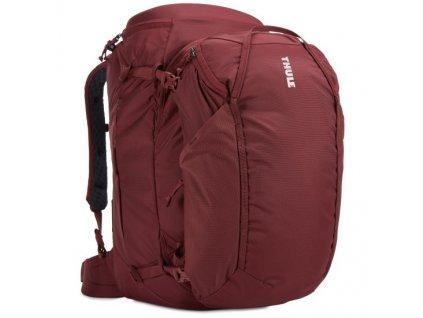 Thule Landmark batoh 60L pro ženy TLPF160 - tmavě červený  + Pouzdro zdarma