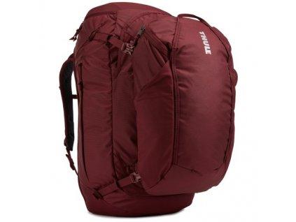 Thule Landmark batoh 70L pro ženy TLPF170 - tmavě červený  + Pouzdro zdarma
