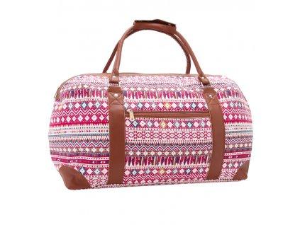 Cestovní taška JAZZI 2173 - červená