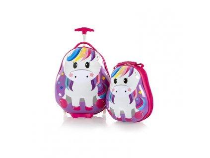 Heys Travel Tots Kids Unicorn  + Pouzdro zdarma