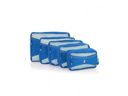 Heys Eco Packing Cube 5pc Set II Blue