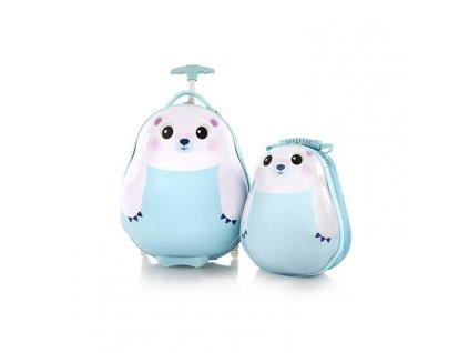 Heys Travel Tots Kids Polar Bear  + Pouzdro zdarma