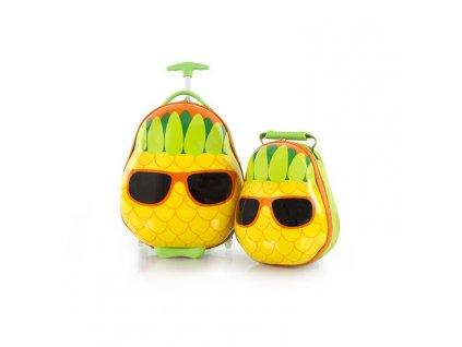 Heys Travel Tots Kids Pineapple  + Pouzdro zdarma