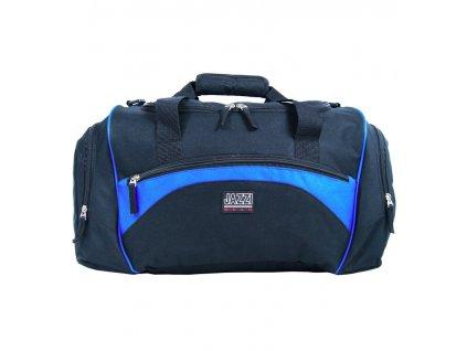 Cestovní taška JAZZI 4268 - černá/světle modrá