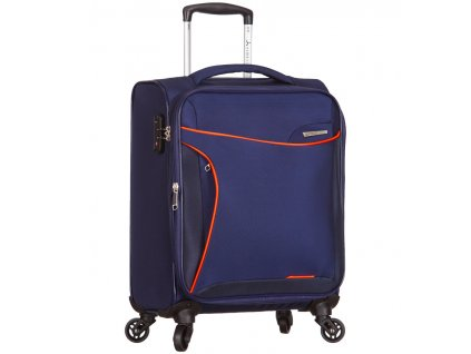 Kabinové zavazadlo SIROCCO T-1201/3-S - modrá  + pouzdro zdarma