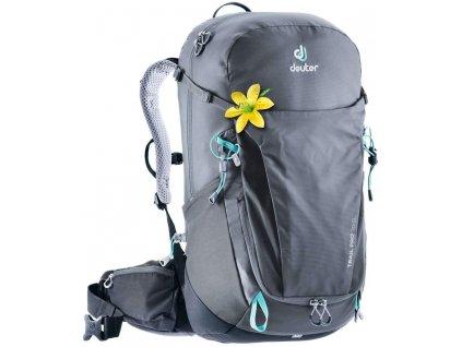 Deuter Trail Pro 30 SL Graphite-black  + PowerBanka nebo pouzdro zdarma + sleva 10% s kódem KVETEN10