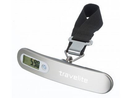 165527 travelite luggage scale silver