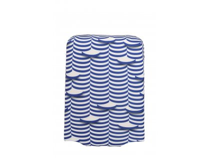 166037 travelite luggage cover m waves