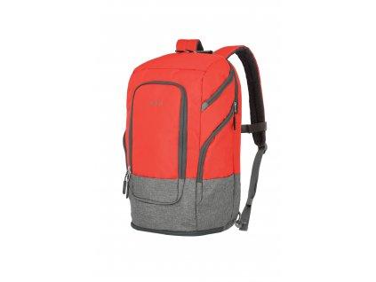 166043 travelite basics backpack l red