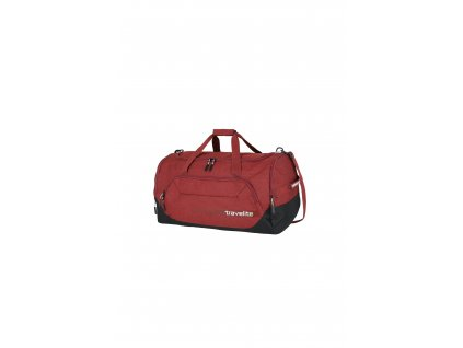 171236 travelite kick off duffle l red