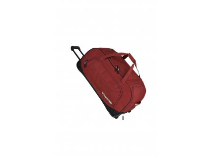 171254 travelite kick off wheeled duffle red