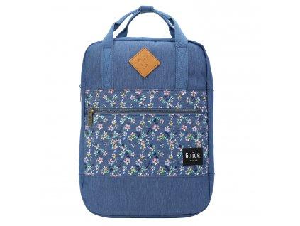 129937 g ride batoh diane blue flower