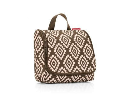 129263 3 reisenthel toiletbag diamonds mocha