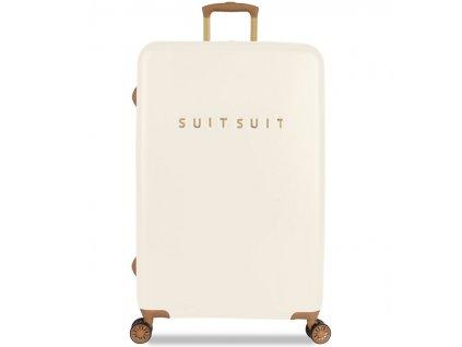 173474 cestovni kufr suitsuit tr 7104 3 l fab seventies antique white