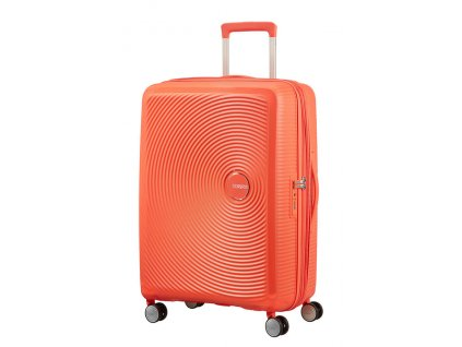 165932 american tourister soundbox m 67 24 tsa exp spicy peach