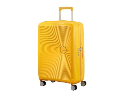 165935 american tourister soundbox m 67 24 tsa exp golden yellow