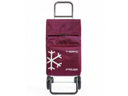 Rolser nákupní taška na kolečkách Termo Fresh MF (Barva black-purple)