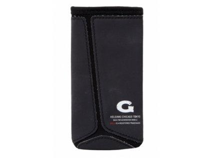 GOLLA neoprénové pouzdro (typ kapsa) pro Apple iPhone 5 apod., Reed G1393, černá