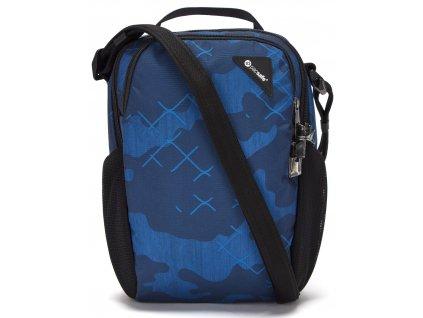 181769 pacsafe taska vibe 200 crossbody blue camo