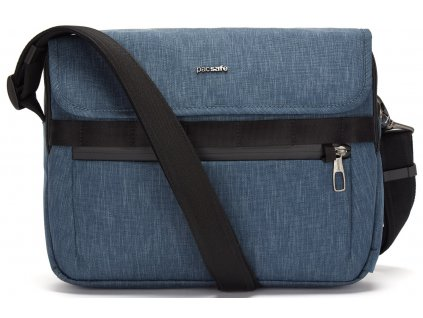 181787 pacsafe taska metrosafe x messenger dark denim