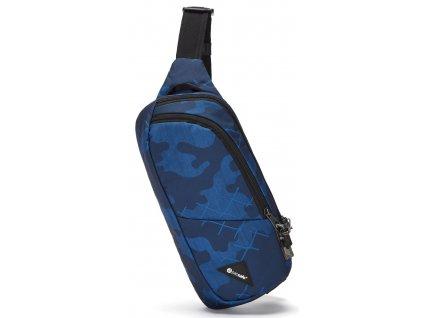 181820 pacsafe ledvinka vibe 150 sling pack blue camo