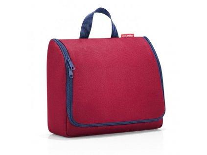 182075 3 reisenthel toiletbag xl dark ruby