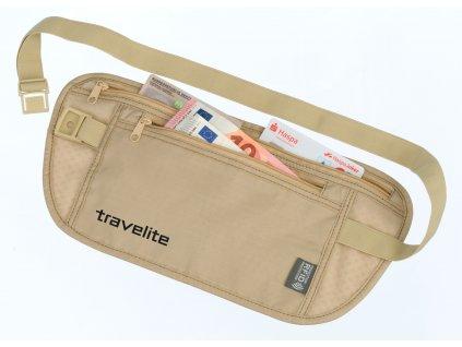 182228 travelite waist pouch rfid beige