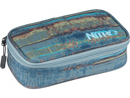 182267 nitro penal pencil case xl frequency blue
