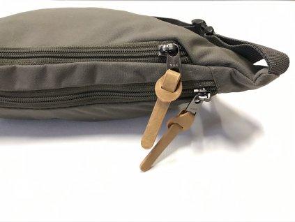 182276 nitro ledvinka nitro hip bag waxed lizard