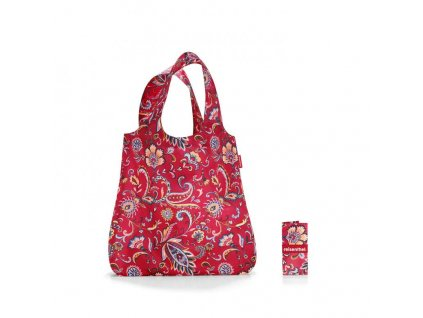 182699 reisenthel mini maxi shopper paisley ruby