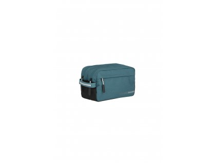 187100 travelite kick off cosmetic bag petrol