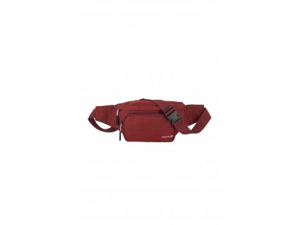187085 travelite kick off waist bag red
