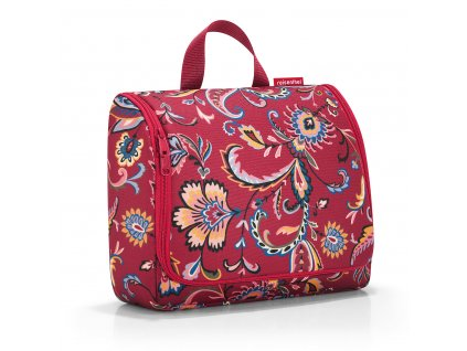 186404 reisenthel toiletbag xl paisley ruby
