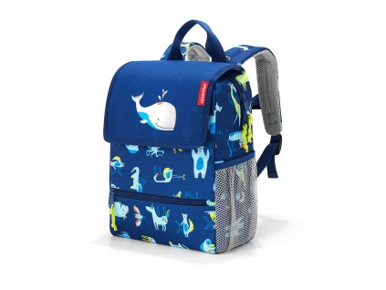 187109 reisenthel backpack kids abc friends blue